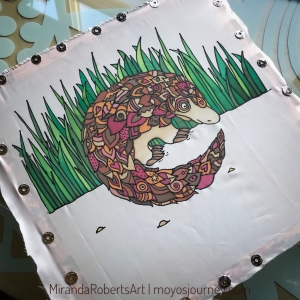 Silk Painting with MirandaRobertsArt