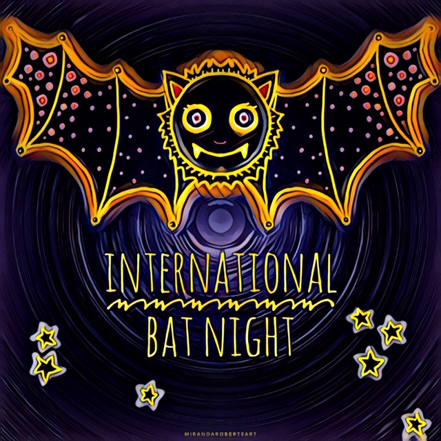 Miranda Roberts Art International Bat NIght Friends of Moyo