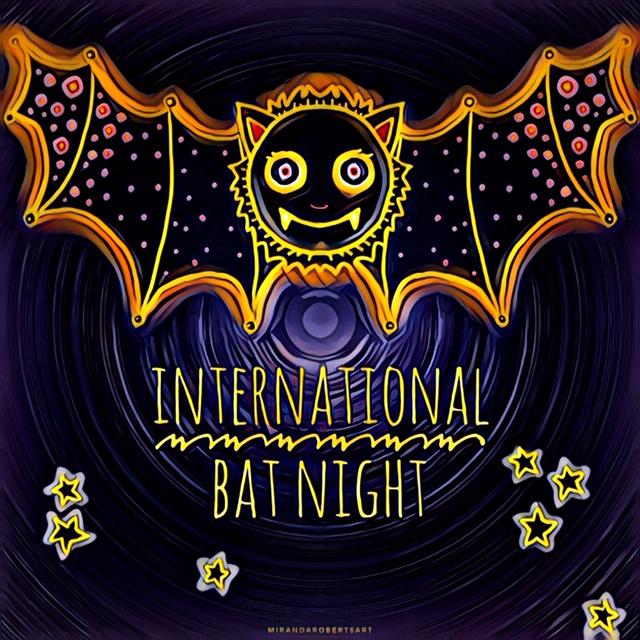 Miranda Roberts Art International Bat NIght Friends of Moyo